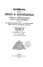 Raccolta delle leggi e disposizioni di pubblica amministrazione nello stato pontificio: Volume 1