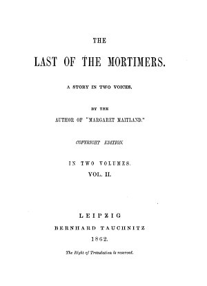 The Last of the Mortimers