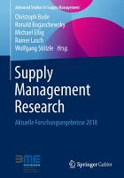 Supply Management Research PDF
