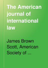 The American Journal of International Law: Volume 4, Part 2