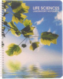 BookFactory Student Life Sciences Lab Notebook with 100 Scientific Ruled Pages