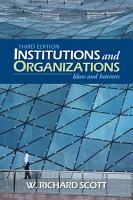 Institutions and Organizations PDF