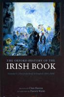 The Oxford History of the Irish Book  Volume V PDF