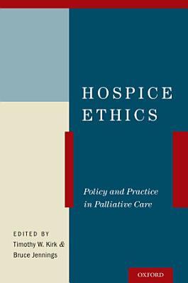 Hospice Ethics PDF