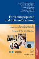 Forschungsspitzen und Spitzenforschung PDF