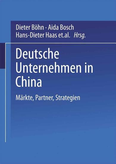 Deutsche Unternehmen in China PDF