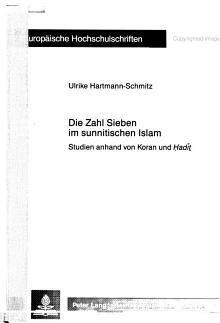 Die Zahl Sieben im sunnitischen Islam PDF