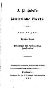 J. P. Hebel's sämmtliche Werke: Band 3