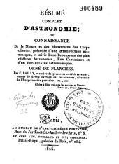 Résumé complet d'astronomie
