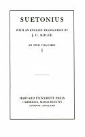 Suetonius PDF