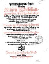 Zwelff wichtige vnd starcke Vrsachen Hansen Jedelshausers von Vlm ... Warumb er mit seinem ehelichen Weib vnnd vier Kindern, von den Widertauffern, so man Hutterische Brüder nennt, sey abgetretten ...