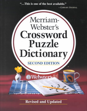 Merriam Websters Crossword Puzzle Dictionary