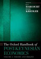 The Oxford Handbook of Post Keynesian Economics  Volume 1 PDF