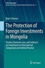 The Protection of Foreign Investments in Mongolia PDF