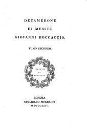 Decamerone Di Messer Giovanni Boccaccio: Volume 2