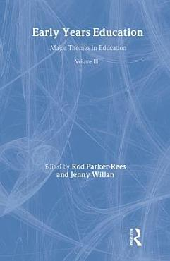 Early Years Education  Policy and practice in early education and care PDF