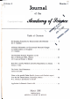 Journal of the Arizona Academy of Science