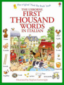 First Thousand Words in Italian Book