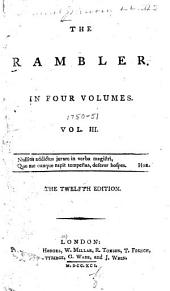 The Rambler: In Four Volumes, Volume 3