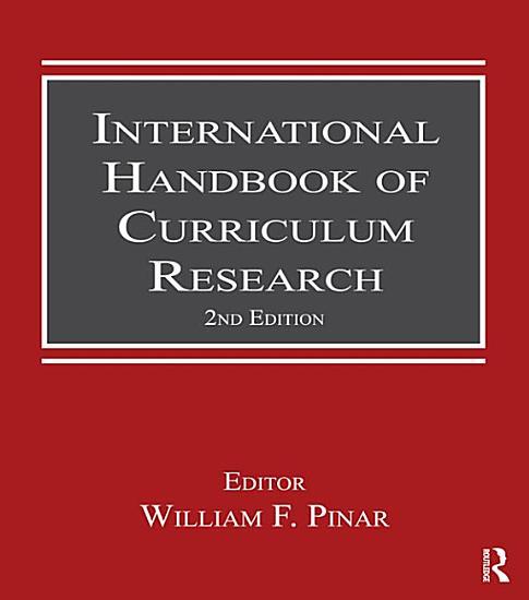 International Handbook of Curriculum Research PDF