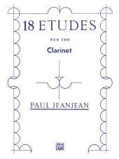 18 Etudes: Clarinet