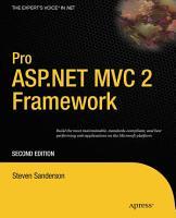 Pro ASP NET MVC 2 Framework PDF