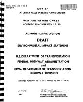 SR-57 Improvement, Cedar Falls: Environmental Impact Statement