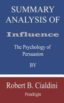 Summary Analysis Of Influence