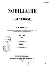 Nobiliaire d'Auvergne