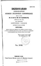 Dizionario Geografico-Storico-Statistico-Commerciale Degli Stati Di S. M. Il Re Di Sardegna...