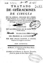 Tratado de operaciones de cirugia
