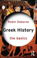 Greek History  The Basics PDF