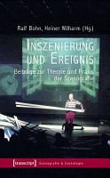 Inszenierung und Ereignis PDF