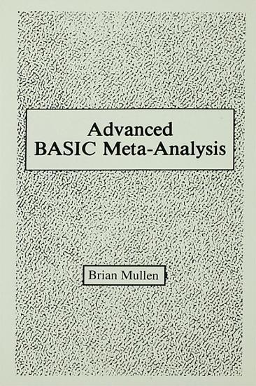 Advanced Basic Meta analysis PDF