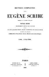 Œuvres complètes de M. Eugène Scribe