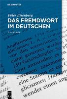 Das Fremdwort im Deutschen PDF