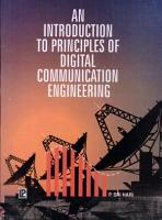 An Introduction to Principles of Digital Comm  Engineering PDF