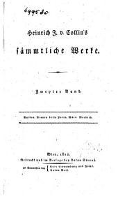 Heinrich J. v. Collin's sämmtliche Werke: Balboa. Bianca della Porta. Mäon. Macbeth, Band 2