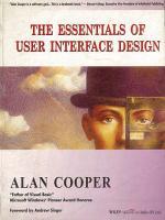 The essentials of using interface design PDF