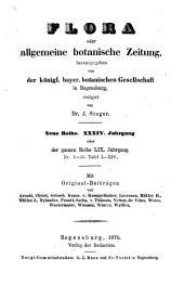 Flora: oder, Allgemeine botanische Zeitung, Band 59