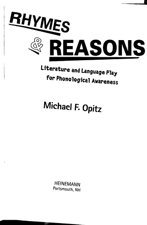 Rhymes   Reasons