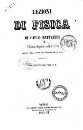 Lezioni di fisica di Carlo Matteucci
