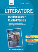 Holt Elements of Literature  Fourth Course   The Holt Reader PDF