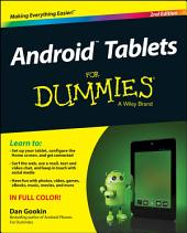 Android Tablets For Dummies: Edition 2