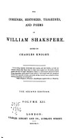 The Comedies  Histories  Tragedies  and Poems of William Shakspere  Poems  Ascribed plays  Indexes PDF