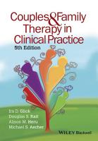 Couples and Family Therapy in Clinical Practice PDF