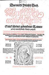 Sehr Herrliche Schöne und warhaffte Gedichte: Band 4