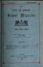 The City of London school magazine