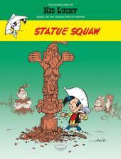 Les Aventures de Kid Lucky d'après Morris - Volume 3 - Statue Squaw