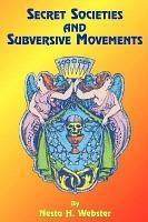 Secret Societies and Subversive Movements PDF